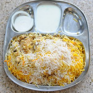 #2 Boneless Chicken Biryani