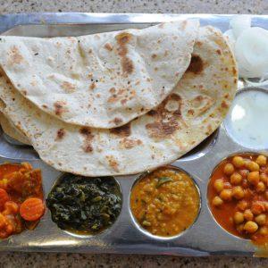 #91 Veggie Thali